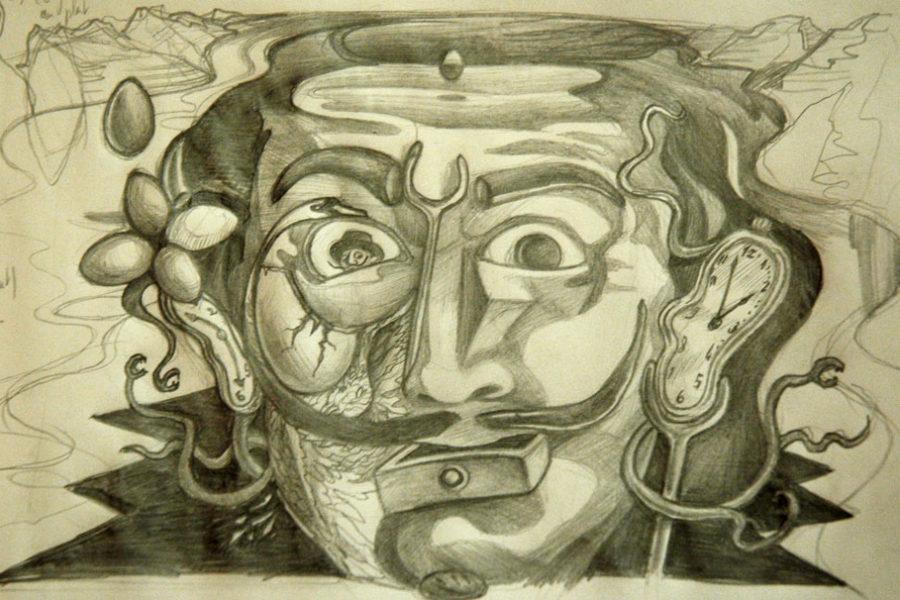 Persistance de l'illusion du spectre catalan – Dalí